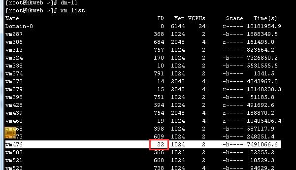使用 ionice 限制 Xen 虚拟机磁盘 IO