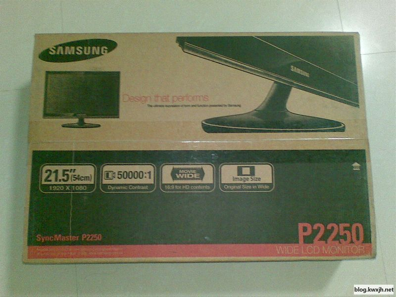 入手三星P2250显示器