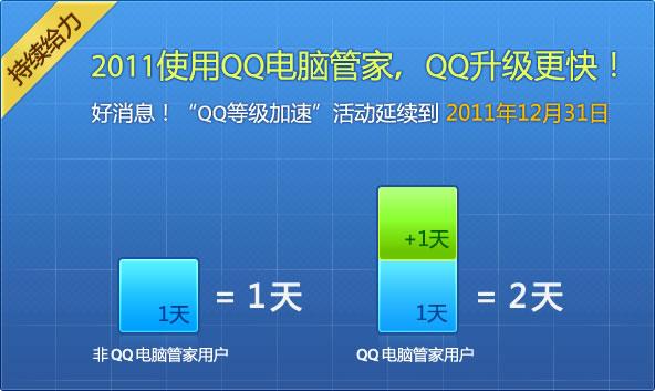 QQ电脑管家加速QQ升级延时