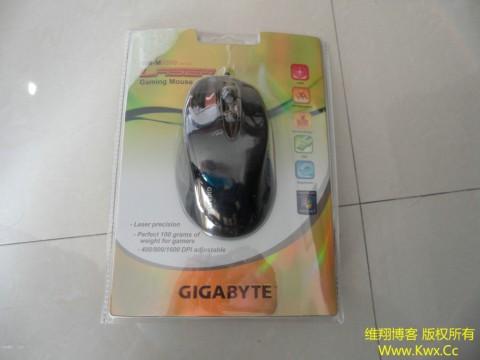 入手技嘉GM-M6800激光鼠标