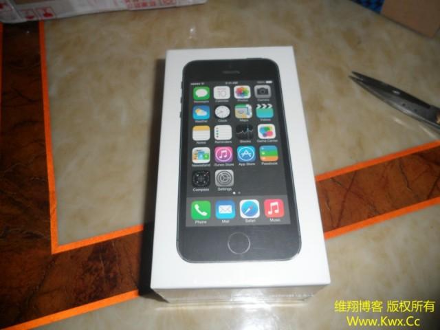 入手iPhone 5S