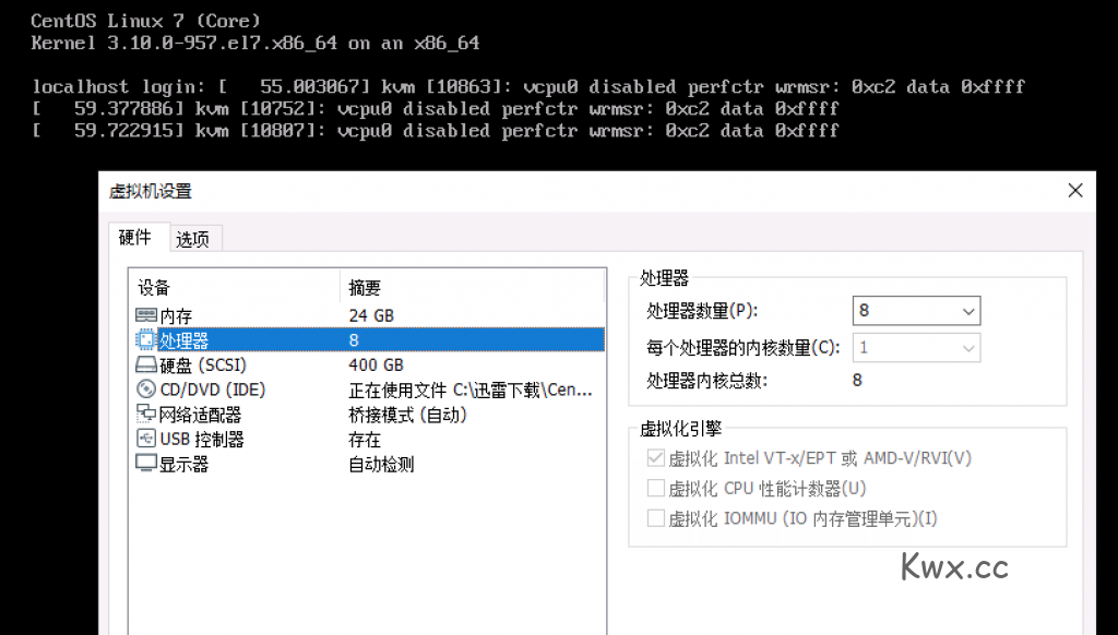 VMware开启 IOMMU 导致死机记录